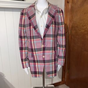 Polo by Ralph Lauren Men's Plaid Blazer